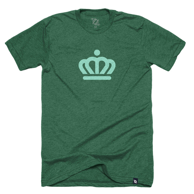 704 Shop x City of Charlotte - Official Crown Tee - Green/Green (Unisex)