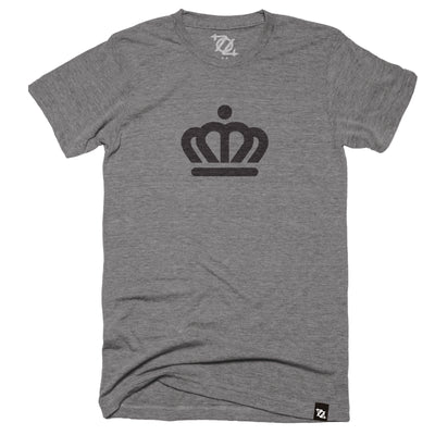 704 Shop x City of Charlotte Official Crown Tee - Gray/Black (Unisex)