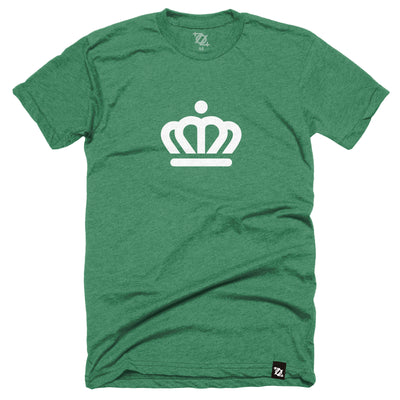 704 Shop x City of Charlotte Official Crown Tee - Kelly Green (Unisex)