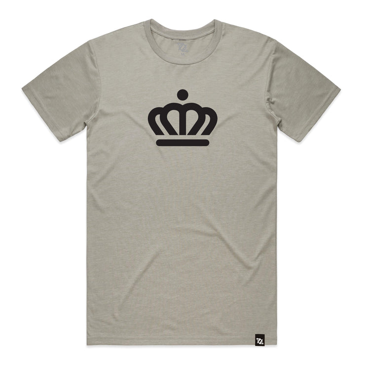704 Shop x City of Charlotte - Official Crown Tee - Light Gray (Unisex)