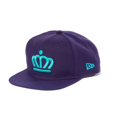 704 Shop x City of Charlotte Official Crown 950 Snapback - Purple/Teal