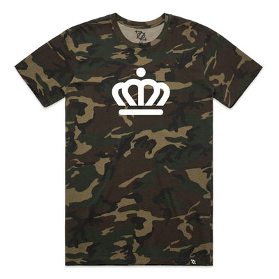 704 Shop x City of Charlotte - Official Crown Tee - Camo (Unisex)