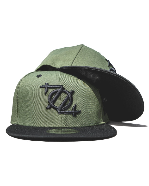 704 Shop x New Era 950 Snapback - Olive/Black Bill