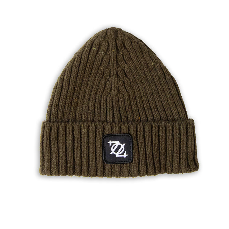 704 Shop Olive Speckled Beanie (Unisex)