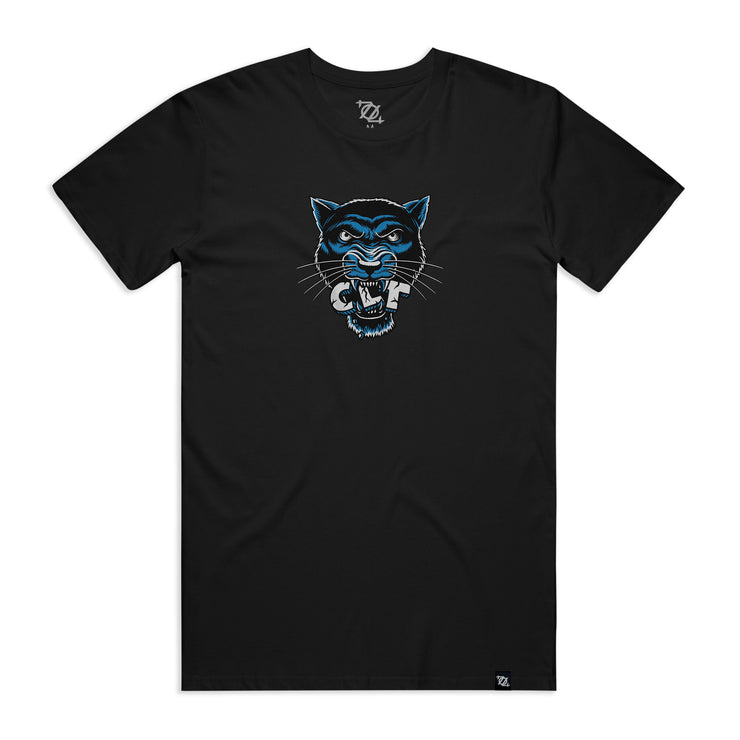 704 Shop CLT Panther Tee - Black (Unisex)