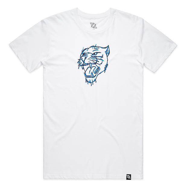 704 Shop Panther Head Tee - White (Unisex)