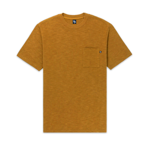 704 Shop Process™ Slub Pocket Tee - Mustard