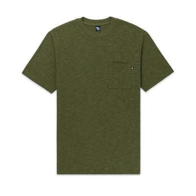 704 Shop Process™ Slub Pocket Tee - Winter Moss