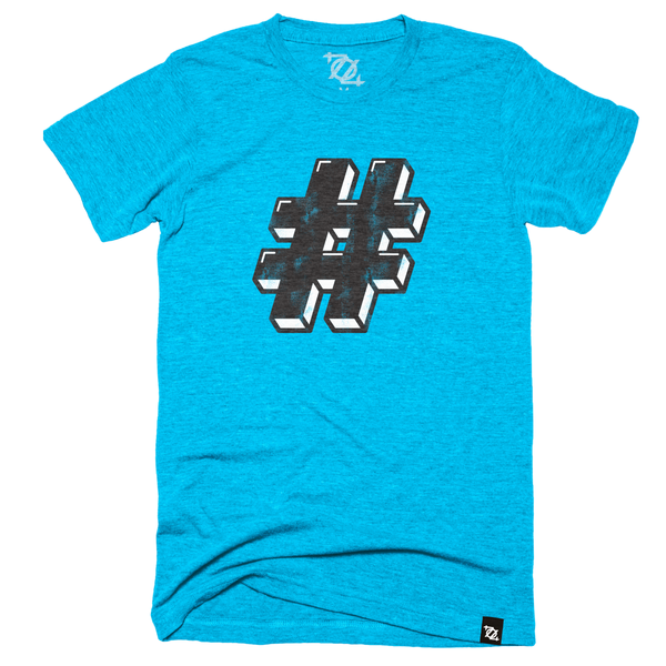 **704 Shop Pound Tee - Blue/Black (Unisex)