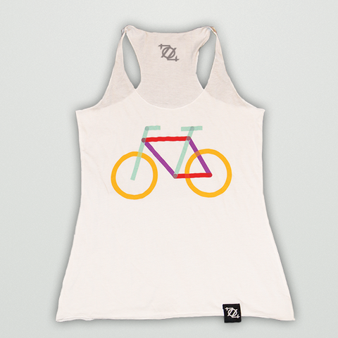 704 Shop + Charlotte Center City Partners - Rail Trail Bike Tank (Women's)