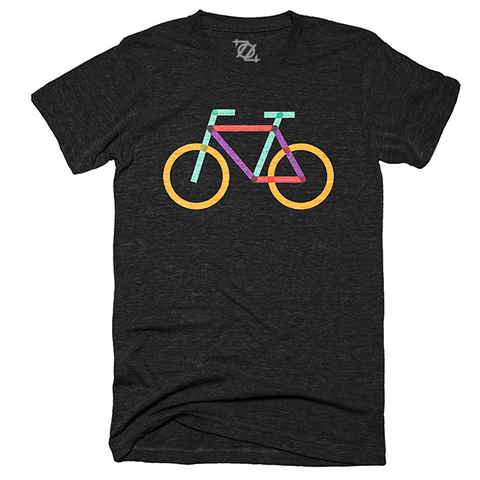 704 Shop + Charlotte Center City Partners - Rail Trail Bike Shirt