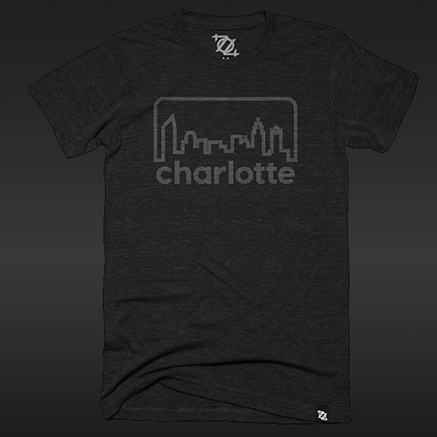 Limited Edition 704 Shop Retro Skyline Tee - Black Friday Edition (Unisex)