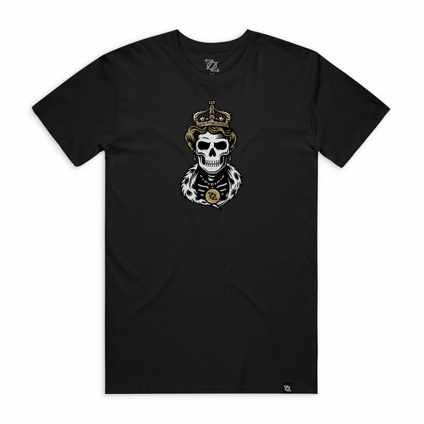 704 Shop Skeleton Queen Tee - Black (Unisex)