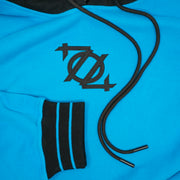 704 Shop Process™ 704 Logo Colorblock Hoodie - Blue/Black (Unisex)