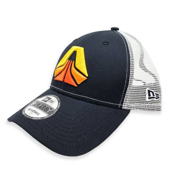 704 Shop x Skookum - Logo Trucker Cap (Navy/White)