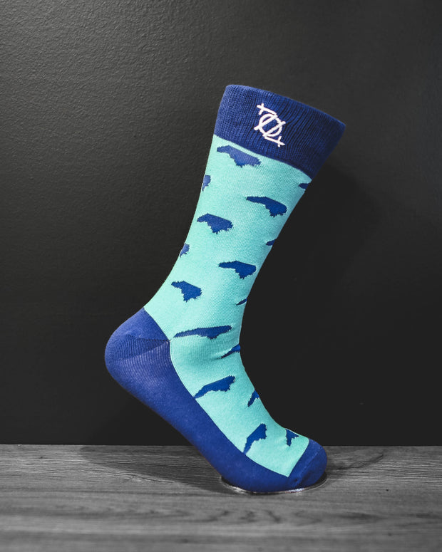 704 Shop Fashion Sock - North Carolina