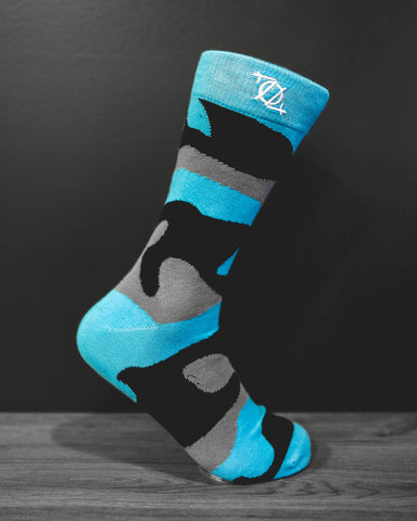 704 Shop Fashion Sock - Panther Camo