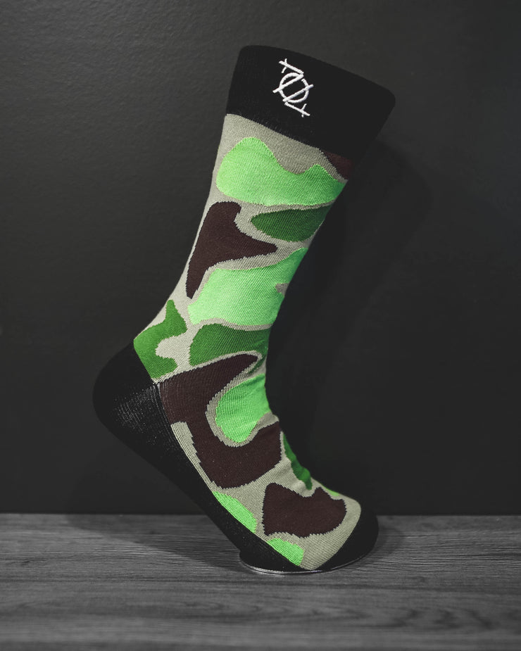 704 Shop Fashion Sock - Duck Camo