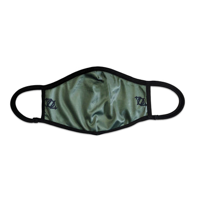 704 Shop Solid Face Mask - Green/Black