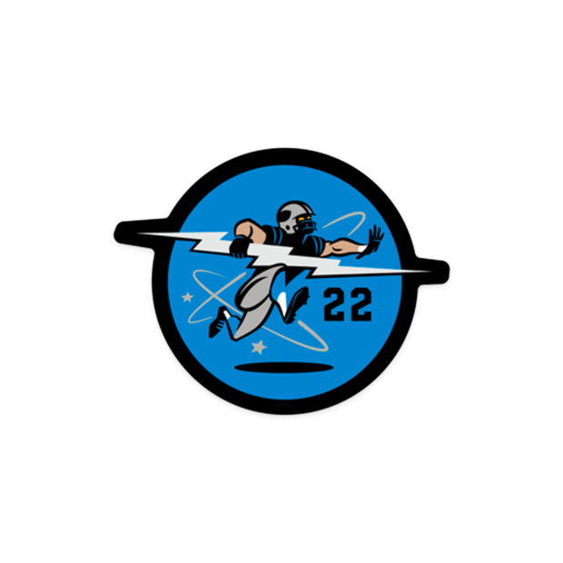 704 Shop x Matt Stevens - Black and Blue Sticker Pack