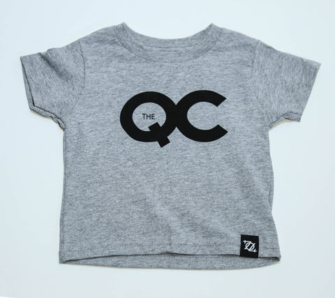 704 Shop The QC Tee - Gray/Black (Toddler's)