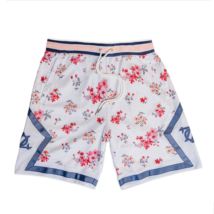 704 Shop Process™ Floral Game Short - White/Multi