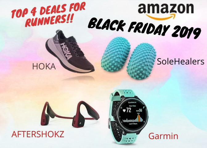 Black Friday 2019 - Top 4 Deals For Runners on Amazon
