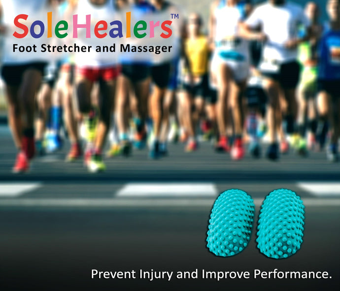 Post-Run Stretches | SoleHealers Foot Stretcher and Massager