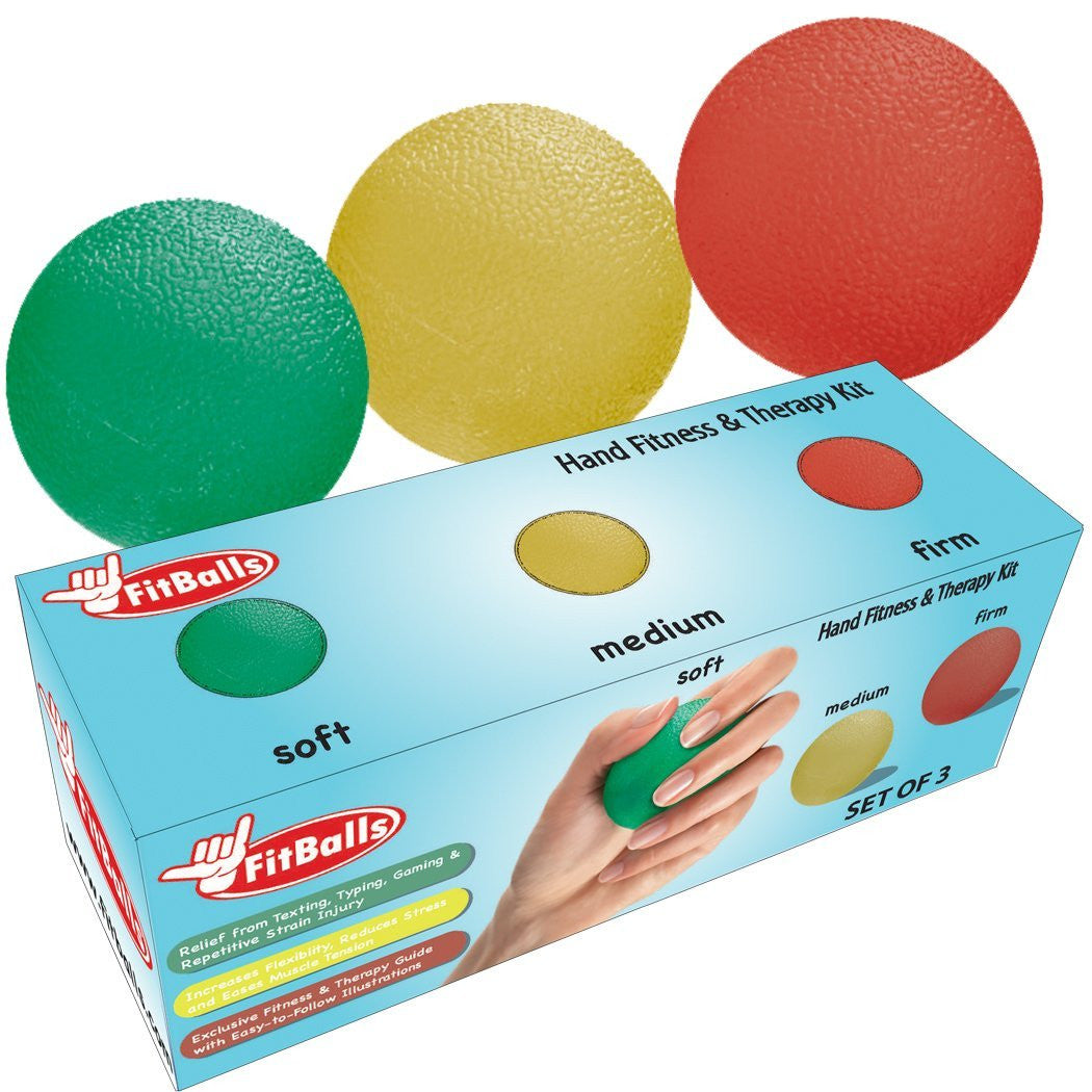 FitBalls: Hand Strengthener & Repetitive Strain Prevention - SmartThingz  - 1