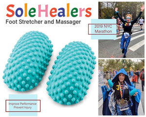 SoleHealers™ Foot and Leg Stretcher & Massager - For Runners, Yoga & Sports