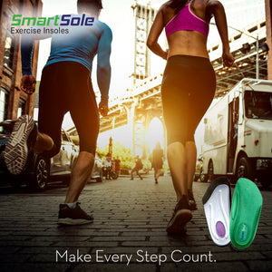 SmartSole Exercise Insoles for Plantar Fasciitis Relief