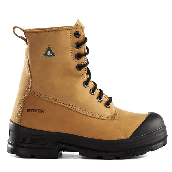 Royer 10-5012 CSA Steel Toe Steel Plate Safety Boots