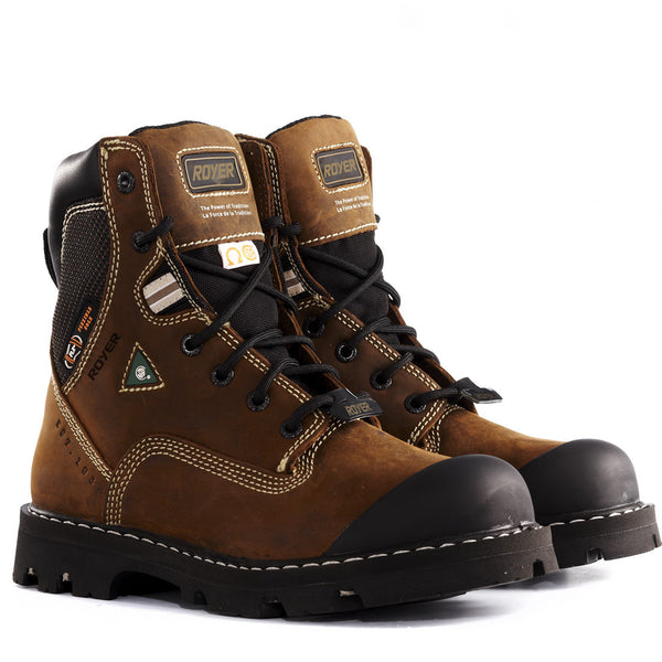 Royer 10-8520 CSA Steel toe Composite plate Safety Boots
