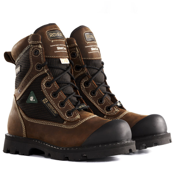 Royer 10-8620 CSA METAL FREE Composite Toe LENZI Plate Waterproof Safety Boots