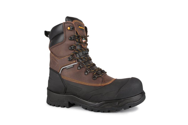 Acton Innova A9255-12 Dark Brown Insulated Work Boots Thinsulate 600g composite WIDE