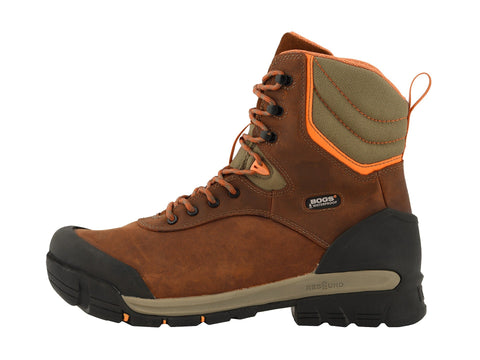 "Bogs BEDROCK 8"" 72301PP-249 COMPOSITE TOE CSA brown Rated -50C"