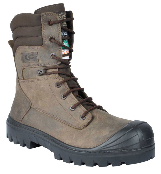 Cofra HOUSTON BROWN Composite METAL FREE Safety Boots