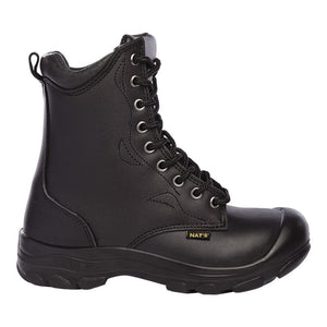 Pilote & Filles S552 BLACK 8″ Laced work boot