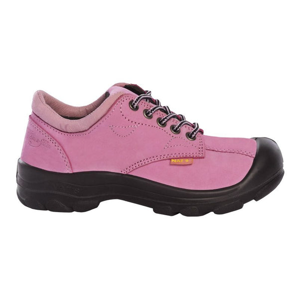 Pilote et Filles S555 Pink Women Safety Shoes CSA Steel toe and plate