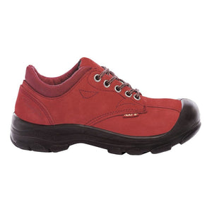 Pilote et Filles S555 Red Women Safety Shoes CSA Steel toe and plate
