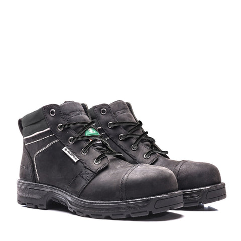 Royer 4500GT Black Safety Boots METAL FREE for women
