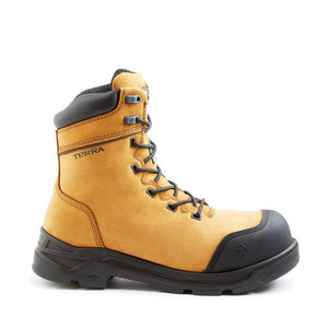 Terra Footwear VRTX 8000 103010 Tan Composite Work Boot