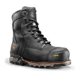 "Timberland Pro 8"" Boondock Black 89645 Men Safety Boots Waterproof Insulated Composite Toe"