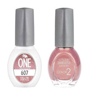 Call Me For TLC Matching Color of One Gel Polish & Timeless Lacquer Duo Set