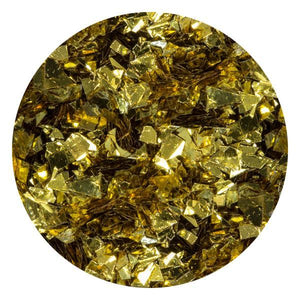 Art Glitter & Confetti, #227 Metallic Gold Flakes