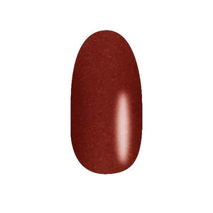 Color Acrylic Nail Pearl Art Powder, Sienna Brown #54