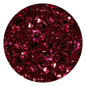 Art Glitter & Confetti, #218 Metallic Wine Red Flakes
