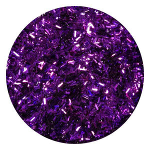 Art Glitter & Confetti, #220 Small Rectangle Metallic Purple