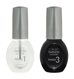 Timeless Lacquer Prime & Finish Base Coat & Topcoat Duo Set