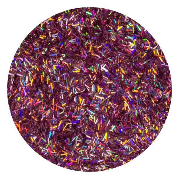 Art Glitter & Confetti, #048 Rectangle Iridescent Lilac